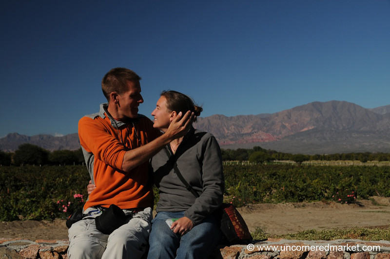 Quick Inspection Before the Shot - Cafayate, Argentina