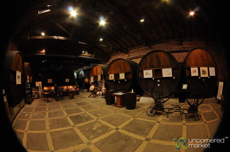 Fisheye View of La Rural Winery - Mendoza, Argentina