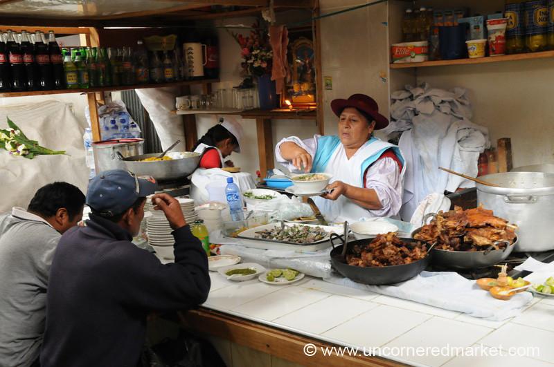 Meat for Lunch - Cajamarca, Peru