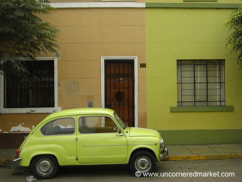 Matching Car? Lima, Peru