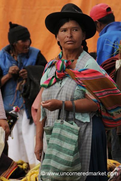 Shopping at the Sunday Market - Tarabuco, Bolivia
