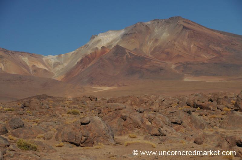 Ice Cream Desert Mountain - Salar Tour, Bolivia