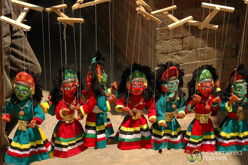 Colorful Puppets - Kathmandu, Nepal