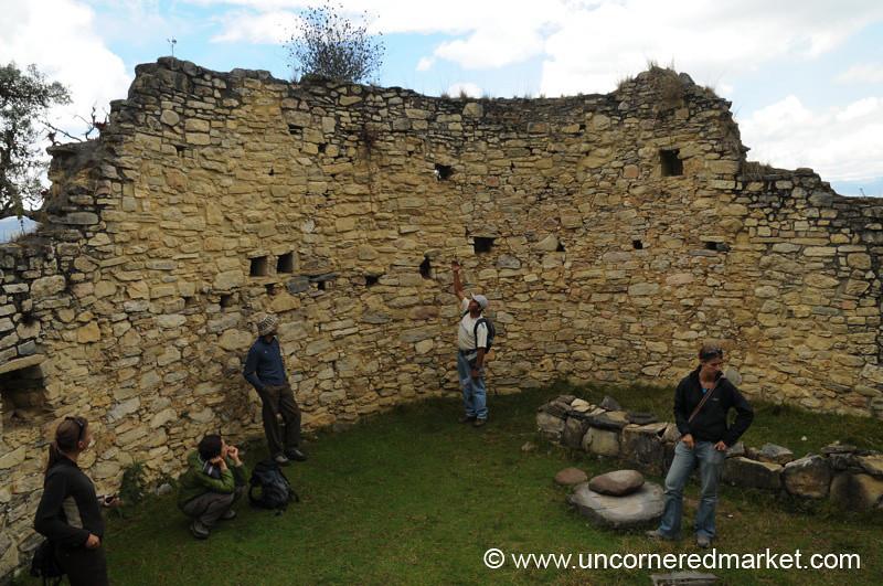 Inside a Home in Kuelap - Near Chachapoyas, Peru