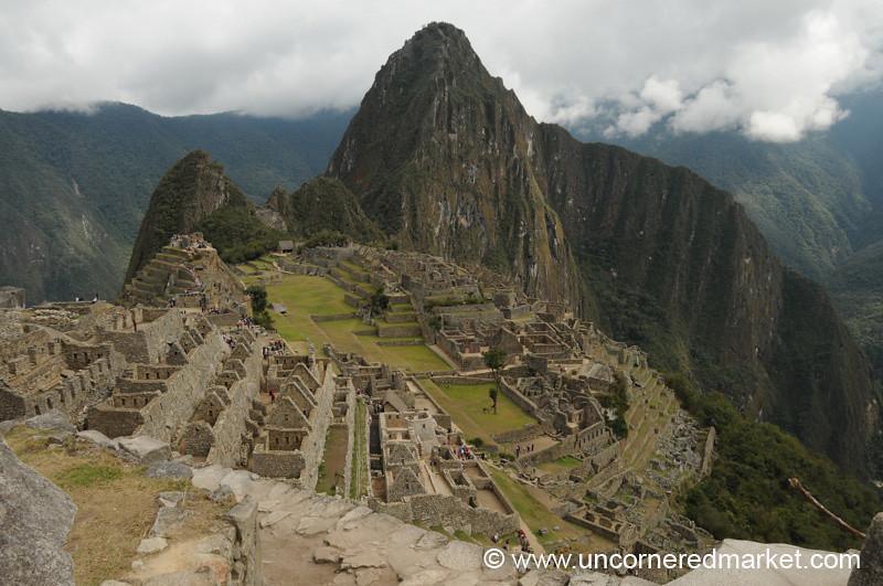 Early Morning at Machu Picchu, Peru