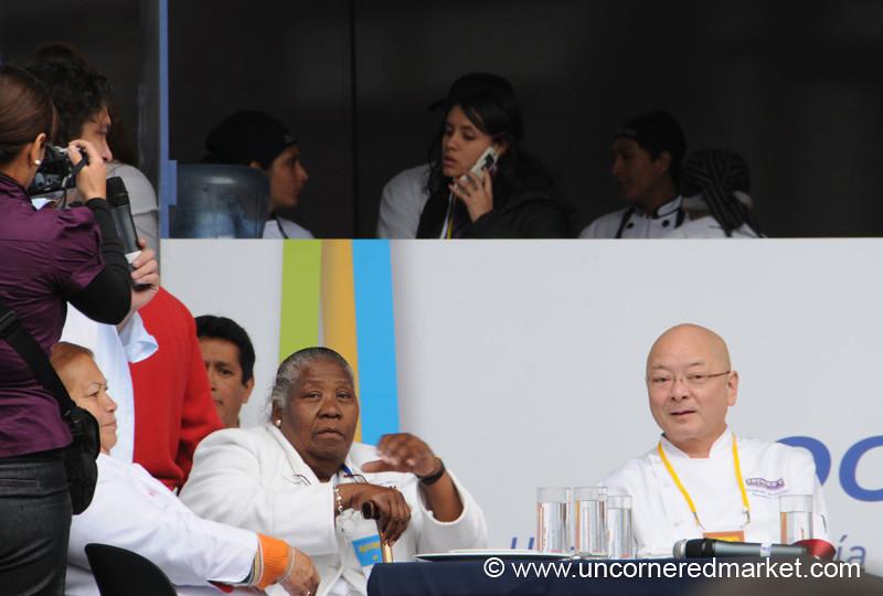 Judging the Best Ceviche - Mistura Gastronomy Festival in Lima, Peru