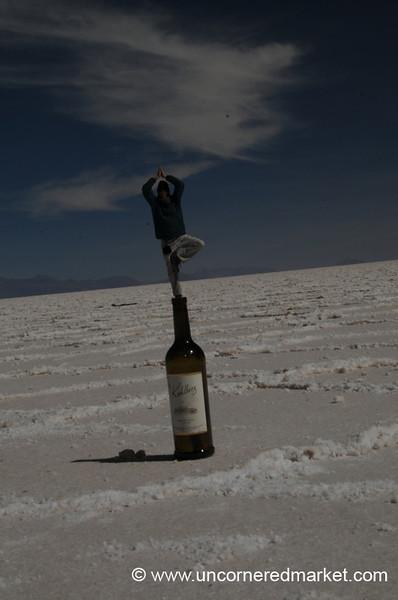 Desert Yoga - Salar de Uyuni, Bolivia