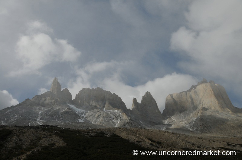Back of the Torres (Towers) - Torres del Paine National Park, Chile