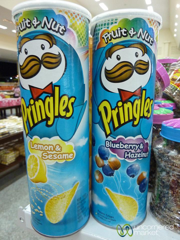 Blueberry Hazelnut Pringles Potato Chips? Thailand