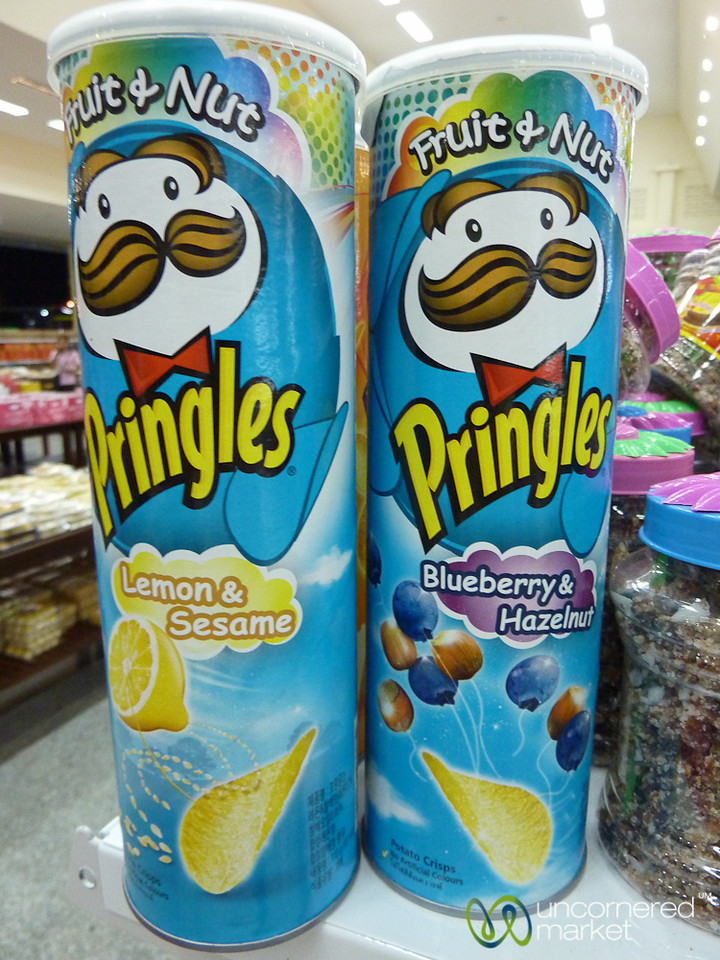 Blueberry Hazelnut Pringles Potato Chips? Thailand