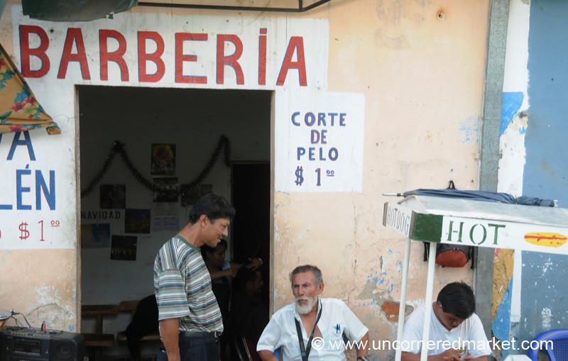 Barber Shop - Santa Ana, El Salvador