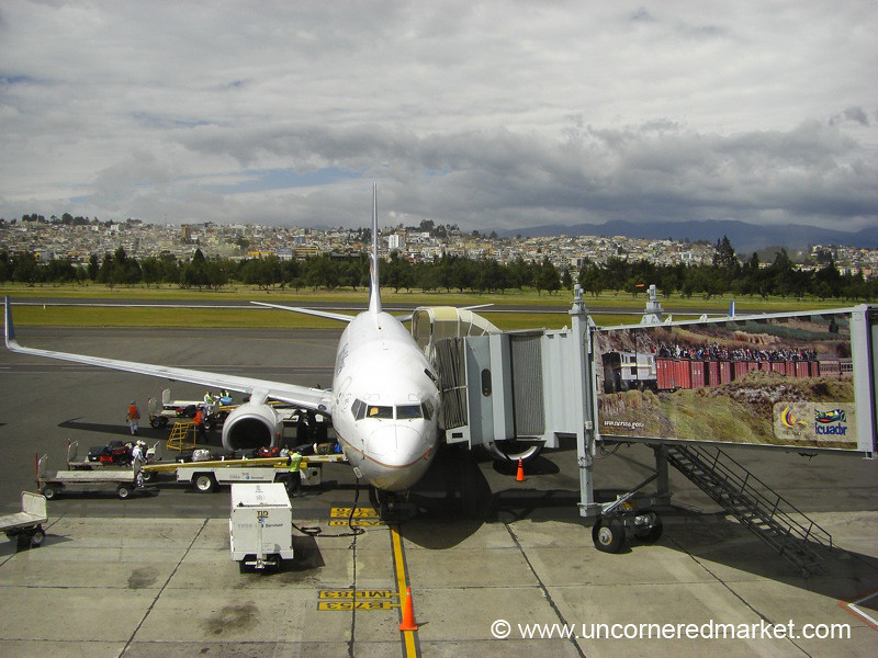 Arrival in Quito, Ecuador