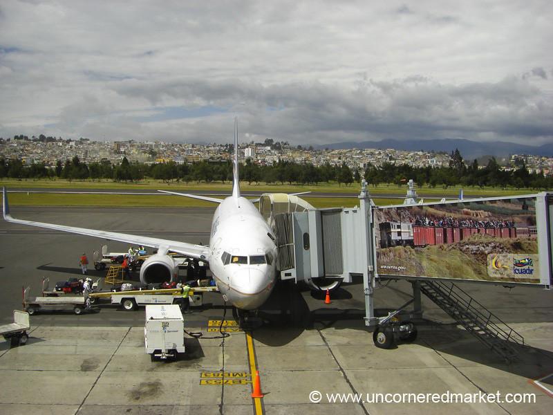 Arrival in Quito, Ecuador