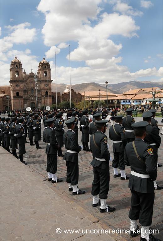 Weekly Parade in Cusco, Peru