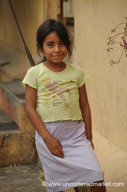 Young Girl - Juayua, El Salvador