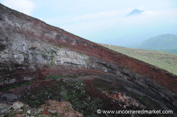 Volcanic Layers - Cerro Negro Volcano, Nicaragua
