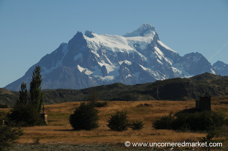 Torres del Paine in Autumn Colors - Patagonian Chile