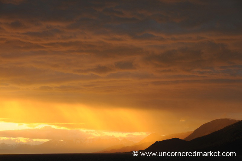 Sunset in the Beagle Channel - Argentina