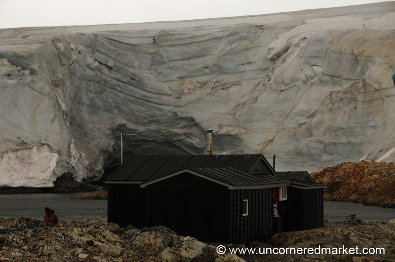 Wordie House in Antarctica
