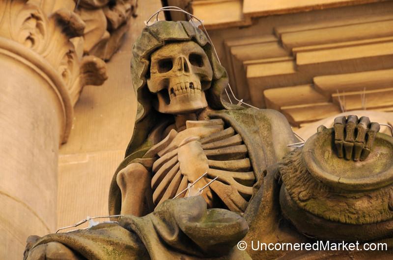 Skeleton Decor - Wurzburg, Germany