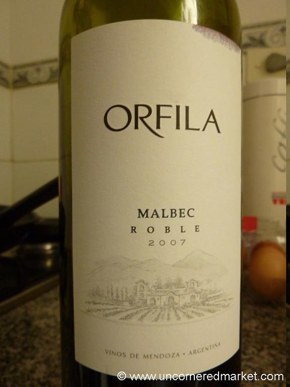 Orfila Malbec Roble 2007 - Buenos Aires, Argentina