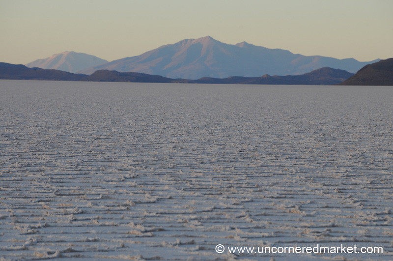 Waves of Salt - Sunrise at the Salar de Uyuni, Bolivia