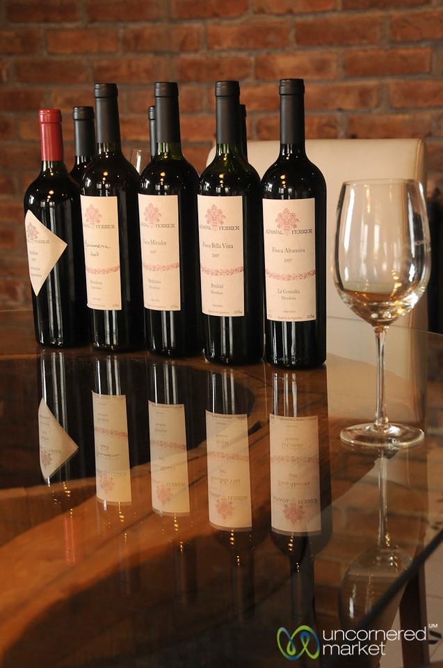 Wine Tasting Selection at Achaval Ferrer - Mendoza, Argentina