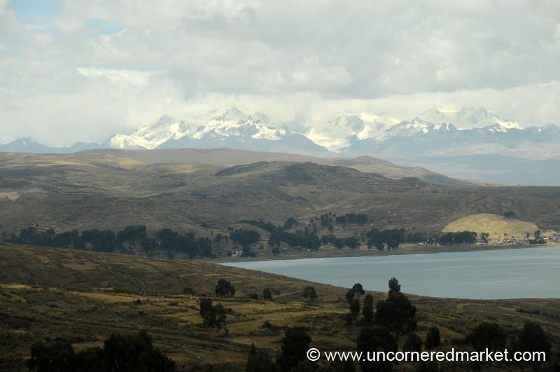 Altiplano Landscape - Copacabana to La Paz, Bolivia