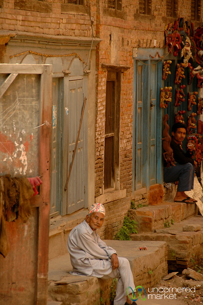 Patan Street Scene - Nepal