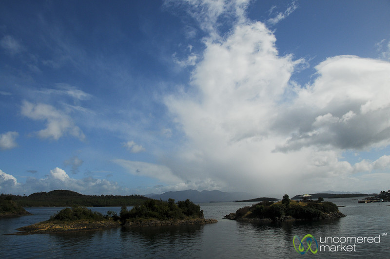 Going through Aisén Fjord - Chile