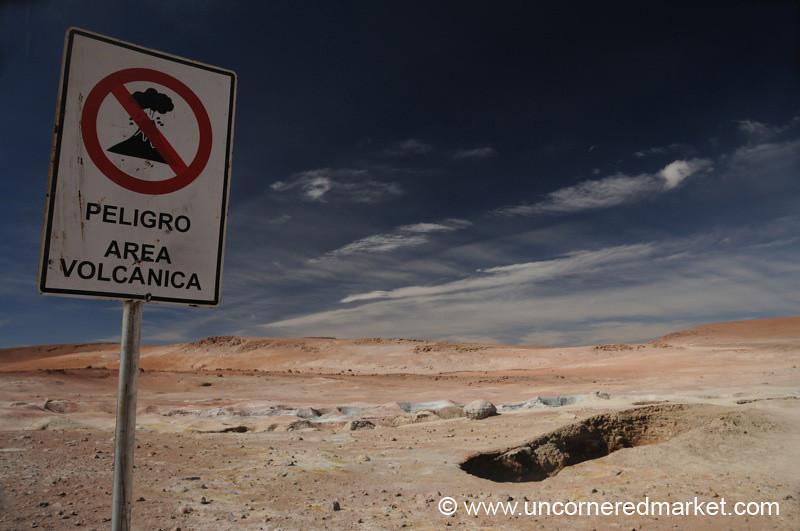 It's Gonna Blow! - Salar Tour, Bolivia