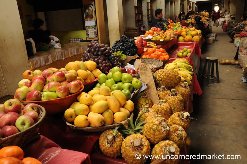 Main Market in Chachapoyas, Peru