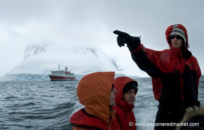 Jared, Our Mighty Zodiac Driver - Antarctica