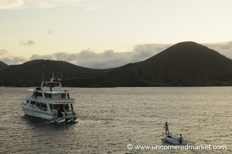 Returning to the Yacht - Galapagos Islands