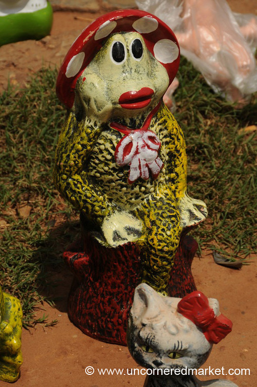 A Curiously Dressed Frog for Christmas - Concepcion, Paraguay
