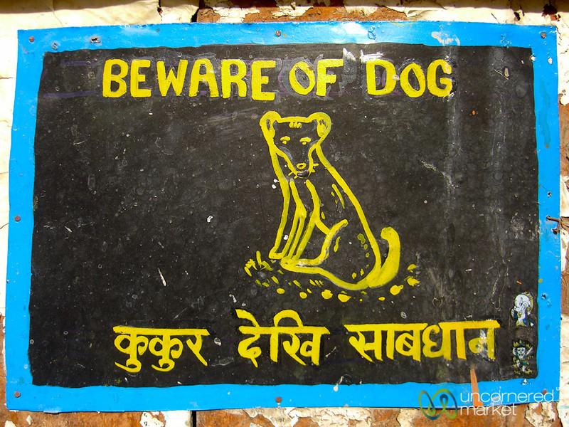 Beware of Dog - Annapurna Circuit, Nepal