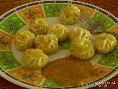 Delicious Momos - Annapurna Circuit, Nepal
