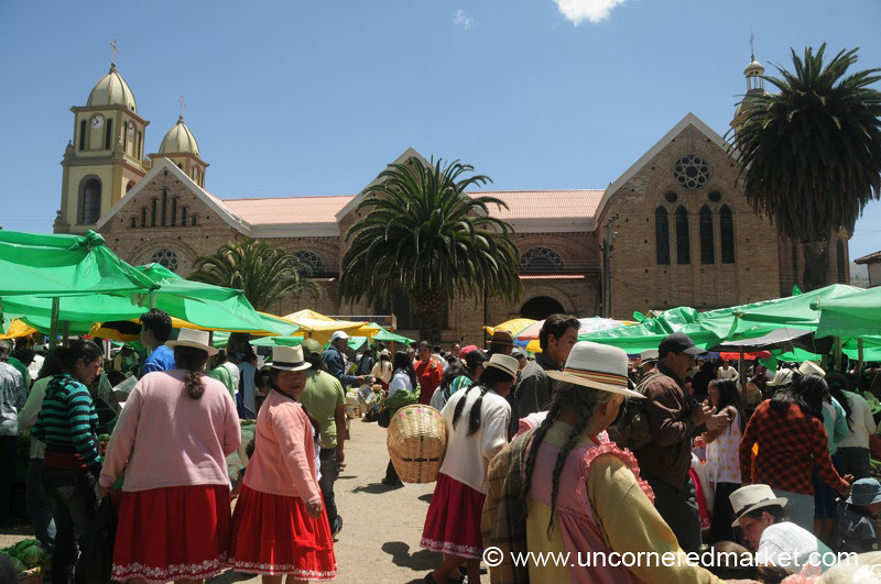 Weekly Market in Chordeleg, Ecuador
