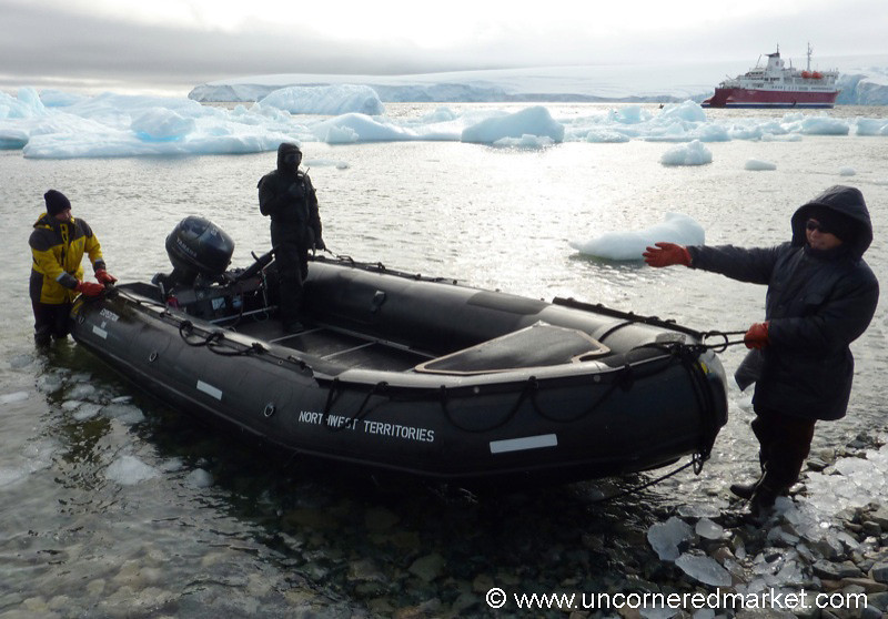 Welcome to the Zodiac - Antarctica