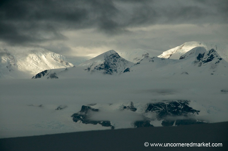 Clouds Moving In - Antarctica