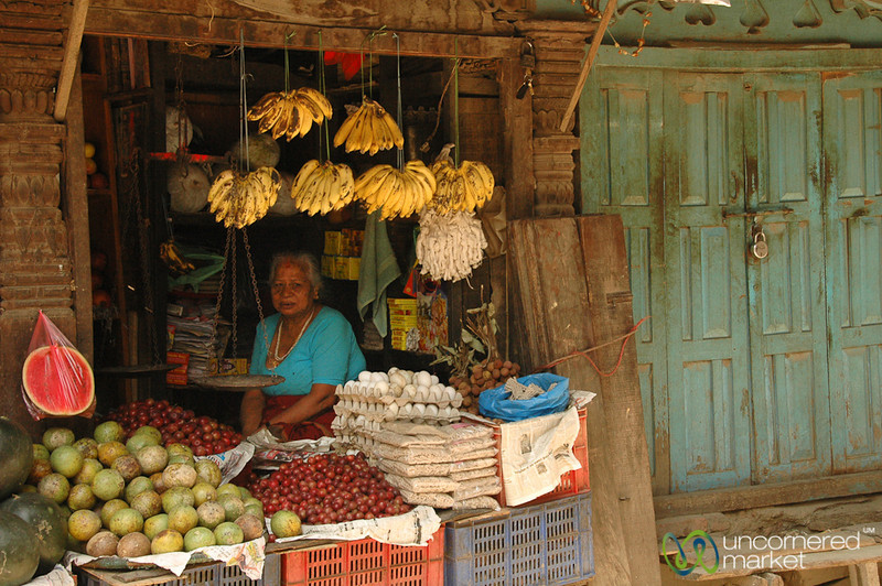 Small Street Shop - Kathmandu, Nepal
