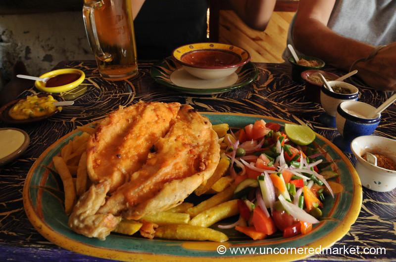 Fresh Trout - Vilcabamba, Ecuador