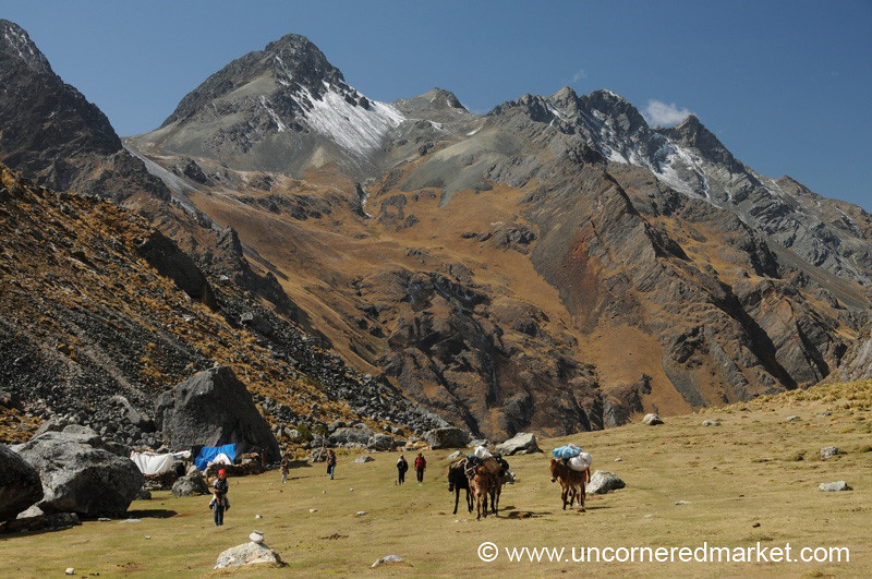 On the Way Up to Salkantay Glacier - Day 2 of Salkantay Trek, Peru
