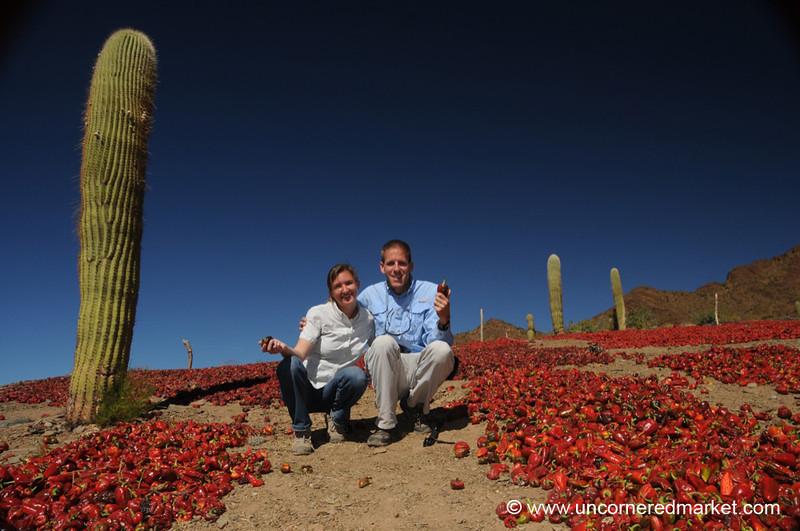 Dan and Audrey Outside Cachi, Argentina