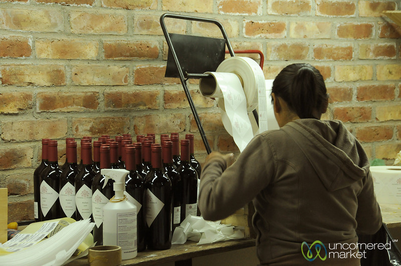 In House Wine Labeling - Mendoza, Argentina