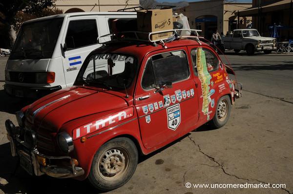 Route 40 Vehicle - Cafayate, Argentina