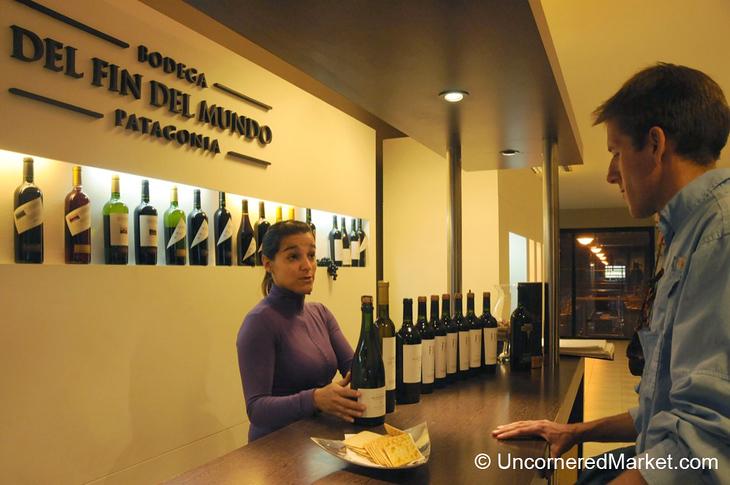 Wine Tasting at Bodega del Fin del Mundo - Neuquen, Argentina