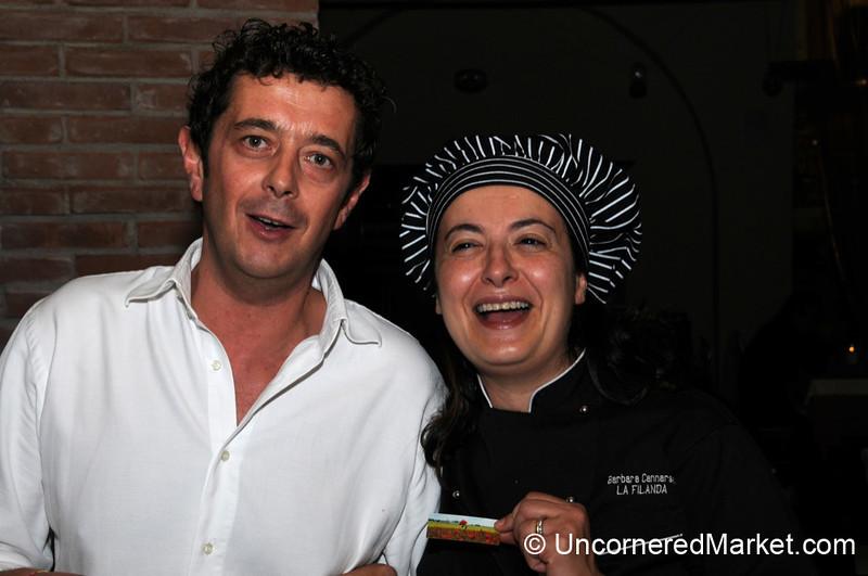 Great Husband-and-Wife Team at La Filanda in Manciano