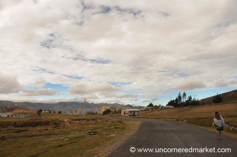 Early Morning Clouds - Quilotoa Loop, Ecuador