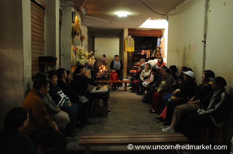 Monthly Prayer Meeting - Chachapoyas, Peru